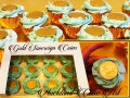 GOLD SOVEREIGN COINS CUPCAKES