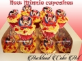 NEW MINNIE CUPCAKES