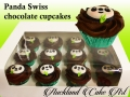 PANDA SWISS CHOC CUPCAKES
