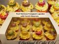 PEARL RAINBOW MACARON CUPCAKES
