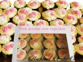 PINK SPARKLE ROSE CUPCAKES