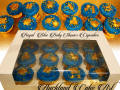 ROYAL BLUE BABY SHOWER CUPCAKES