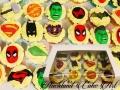 SUPER HERO 3D CUPCAKES