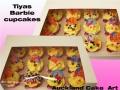 TIYAS BARBIE cupcakes