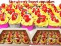 STRAWBERRY SWEET CUPCAKES