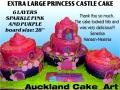 XXL PRINCESS CASTLE CAKE