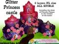GLITTER PRINCESS CASTLE XL