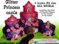 PRINCESS GLITTER CASTLE