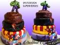 SPLIT DESIGN SUPERHEROES