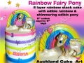 RAINBOW FAIRY PONY