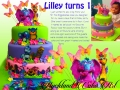 LILLEY TURNS 1