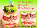 MIRACLES FIRST BIRTHDAY