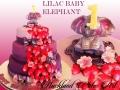 a LILAC BABY ELEPHANT