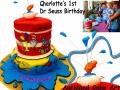 CHARLOTTES DR SEUSS FIRST BIRTHDAY