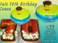 FALE CAKE & 70TH