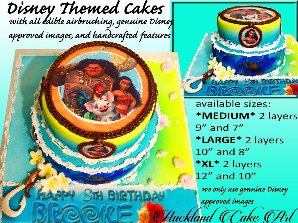 DISNEY THEMED IMAGED CAKES