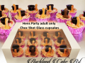CHOC SHOT GLASS CUPCAKES